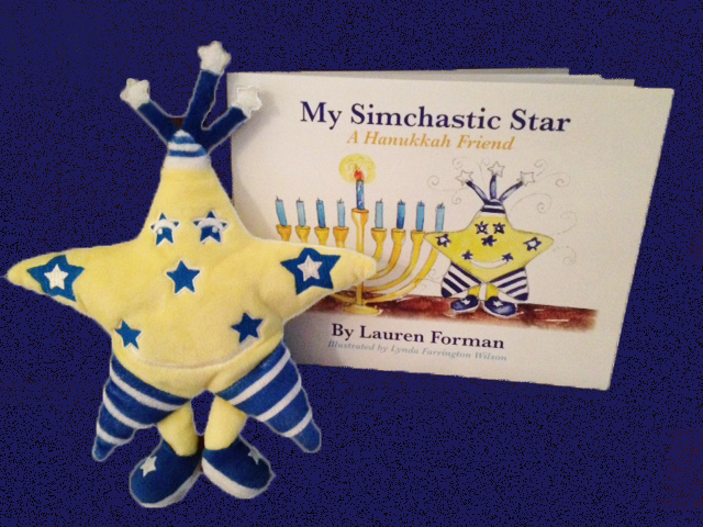 Simchastic Star, book and toy now available!